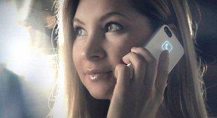 Украинцы собирают на Kickstarter средства на чехол для iPhone который светится за счет излучения смартфона