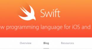 Apple открыла блог посвященный языку программирования Swift
