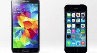 Пластиковый Samsung Galaxy S5 дороже в производстве чем iPhone 5s