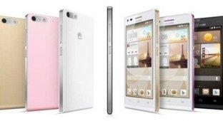 Huawei представила «умные» часы и смартфон Ascend G6