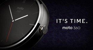 Motorola анонсировала первые «умные» часы на платформе Android Wear