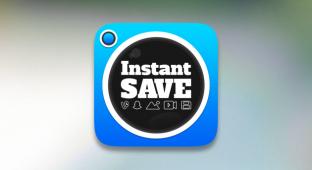 InstantSave с легкостью сохранит любой контент из Vine Instagram и Snapchat