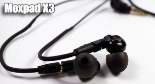 Moxpad X3 — бюджетные наушники со сменным кабелем