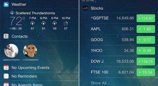 LockInfo7: быстрый доступ к важной информации с экрана блокировки iPhone [Cydia]
