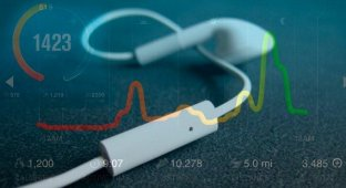 Apple запатентовала «умные наушники»