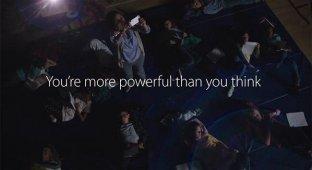 Powerful: новая реклама iPhone 5s