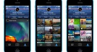 Масштабное обновление Flickr для iOS: качественно новый интерфейс система поиска и съемка HD-видео