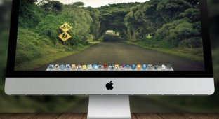 Обои для OS X: Пути-дорожки