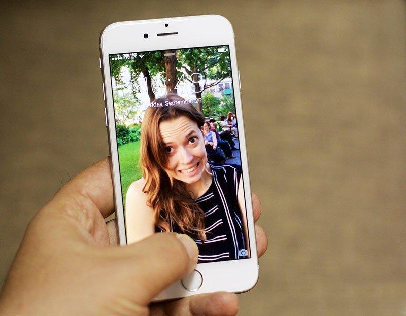Как сделать фото как с iphone 7 plus