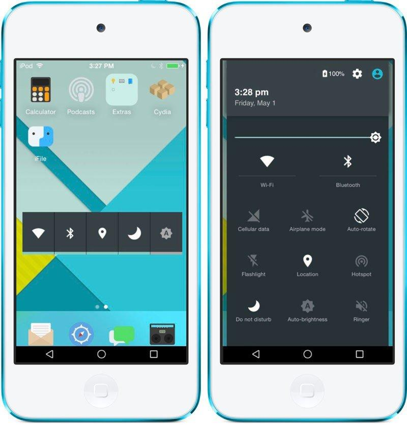 Как сделать из андроида айфон 5 с 549