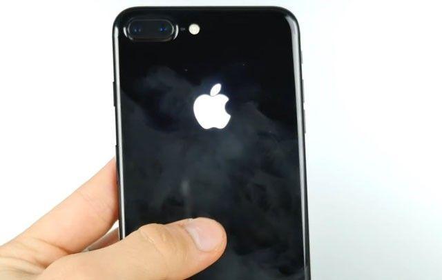 Как сделать яблочко на телефон как на айфоне