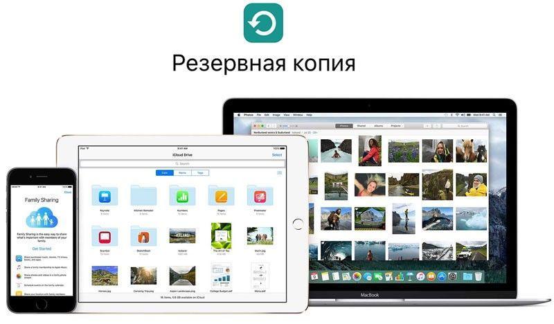 Apple manuelles backup