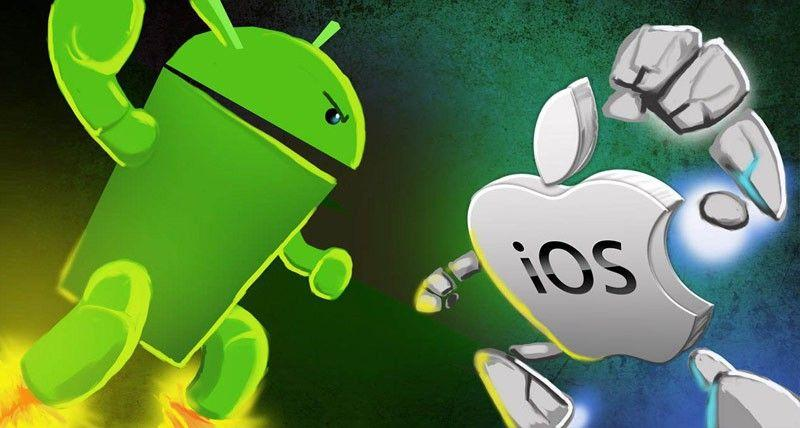 research methodology for android vs ios