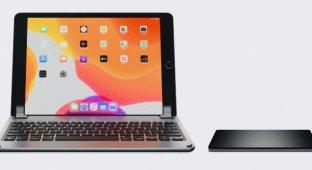 Появилась клавиатура с трекпадом для iPad Pro. Называется Brydge
